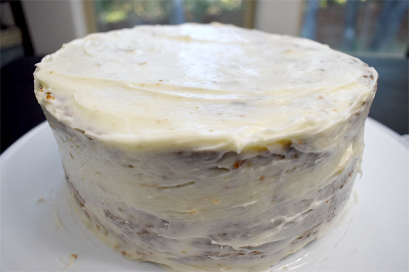 NAKED HUMMINGBIRD CAKE